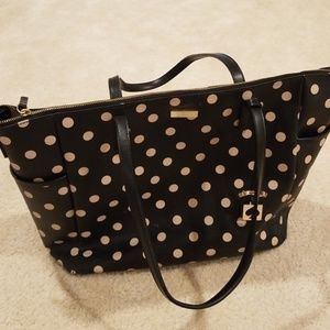 Kate Spade Diaper bag w Diaper cover